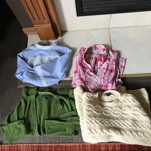 Banana Republic blouses and sweaters